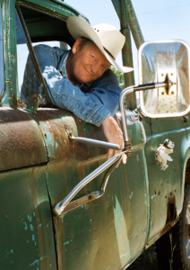 Craig Johnson_green truck 2 credit Catherine Henriette